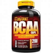 Mutant BCAA 200 капсул без вкуса