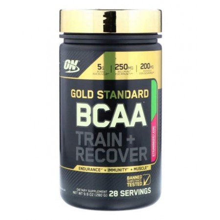 Optimum Nutrition Gold Standard BCAA 280 г клубника/киви
