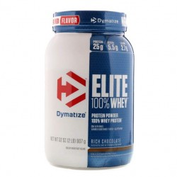 Протеин Dymatize Nutrition Elite Whey 907 г Rich Chocolate