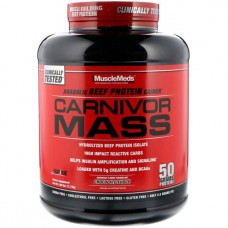 Гейнер Musclemeds Carnivor Mass 2590 г Vanilla Caramel
