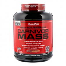 Гейнер Musclemeds Carnivor Mass 2590 г Chocolate Fudge