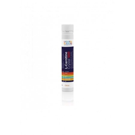 Liquid&Liquid L-Carnitine Crystal 5000, 1 ампула 25 мл, Red berry