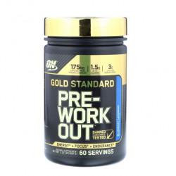 Предтренировочный комплекс Optimum Nutrition Gold Standard Pre-Workout 600 г голубика