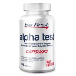 Спортивная добавка Be First Alpha Test Capsules 60 капсул