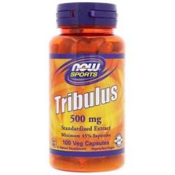 Спортивная добавка Now Tribulus 500 мг 45% Saponins 100 капсул