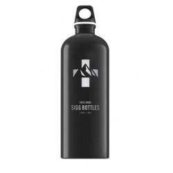 Бутылка для воды Sigg Mountain 8744.50 черная 1 л