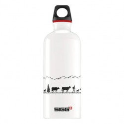 Бутылка для воды Sigg Swiss 8622.60 белая 0.6 л