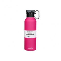 Sistema Стальная бутылка Hydrate с петелькой 600 мл