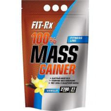 Гейнер FIT-Rx 100% Mass Gainer 2700 г Vanilla