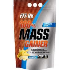 Гейнер FIT-Rx 100% Mass Gainer 2700 г Banana