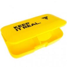 Таблетница Trec Nutrition Keep It Real желтая