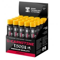 НПО Спортивные Технологии L-Carnitine 6000, 1 ампула 25 мл, Pineapple