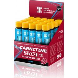 НПО Спортивные Технологии Л-Карнитин 2700 + Витамин С, 1 ампула 25 мл, Kiwi