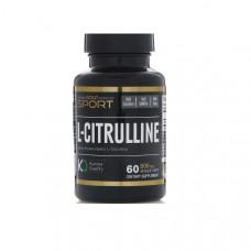 California Gold Nutrition L-Citrulline 60 капсул без вкуса