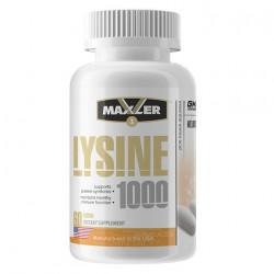Maxler Lysine 1000 60 таблеток без вкуса
