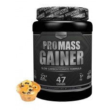 Гейнер Steel Power Nutrition Pro Mass Gainer 1500 г черничный маффин