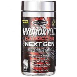Жиросжигатель MuscleTech Hydroxycut Hardcore Next Gen, 100 капсул