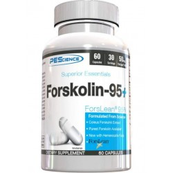 Жиросжигатель PEScience Forskolin-95+, 60 капсул