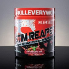 Killer Labz Stim Reaper 195 г со вкусом клубники-киви