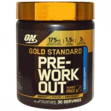 Optimum Nutrition Gold Standart Pre-Workout 300 г со вкусом голубики
