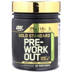 Optimum Nutrition Gold Standart Pre-Workout 300 г со вкусом яблока