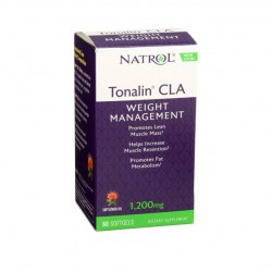 Natrol Tonalin Cla 1200 мг 60 гелевых капсул