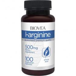 BIOVEA L-Arginine 500 100 капсул без вкуса