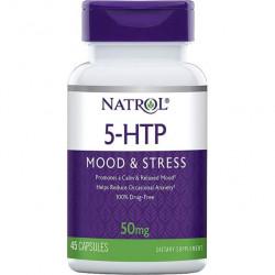 Natrol 5-HTP 45 капсул без вкуса