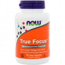 NOW Sports True Focus 90 капсул без вкуса