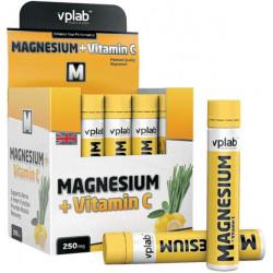 VPLab Magnesium + Vitamin C Box 20 ампул по 25 мл лемонграсс