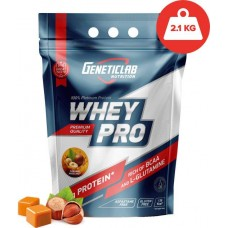 Протеин GeneticLab Nutrition Whey Pro 2100 г Caramel Hazelnut