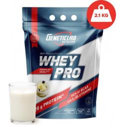 Протеин GeneticLab Nutrition Whey Pro 2100 г Vanilla