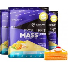 Гейнер Geon Excellent Mass 5000 920 г апельсиновый пирог