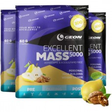Гейнер Geon Excellent Mass 5000 920 г груша-грецкий орех