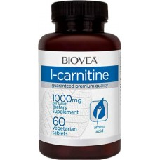 Biovea L-Carnitine 1000, 60 таблеток