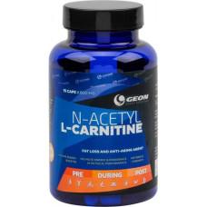 Geon N-Acetyl L-Carnitine, 75 капсул