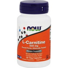 NOW Sports L-Carnitine, 30 капсул