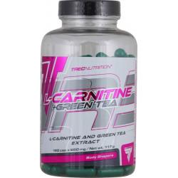 Trec Nutrition L-Carnitine + Green Tea, 180 капсул