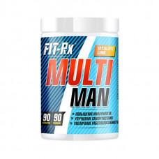 Витаминно-минеральный комплекс FIT-Rx Multi Man 90 таблеток