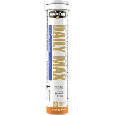 Витаминно-минеральный комплекс Maxler Daily Max 20 таблеток, апельсин