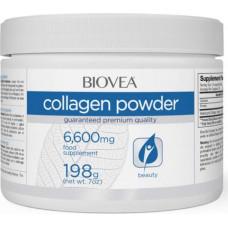 Biovea Collagen powder 6600mg 198g - 198 г, Без вкуса