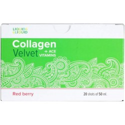 Liquid&Liquid Collagen Velvet + ACE Box 20 x 50ml - 20 амп, Ягода