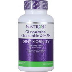 Natrol Glucosamine Chondroitin MSM 90tab - 90 таб.
