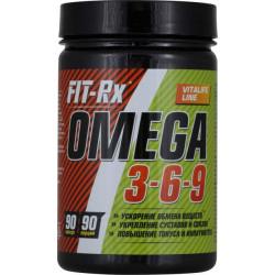 FIT-Rx Omega 3-6-9 - 90 капс.