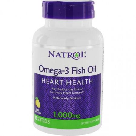 Natrol Omega-3 Fish Oil 1000mg 90caps - 90 капс.