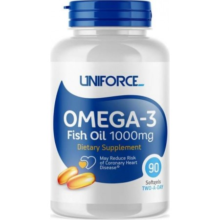 Uniforce Extreme Omega-3 1000mg 90cap - 90 капсул