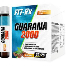 FIT-Rx Guarana 2000 Box 20amp x 25 ml - 20 амп., Кофе