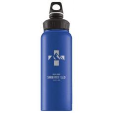 Бутылка Sigg WMB Mountain Голубой 1 л