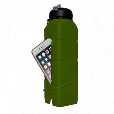 Бутылка-динамик для воды AceCamp Silicone Sound Bottle 769 ml 1582-oliva