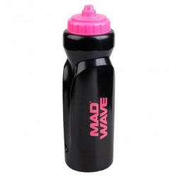 Бутылка для воды Mad Wave Water Bottle 1 л розовая/черная